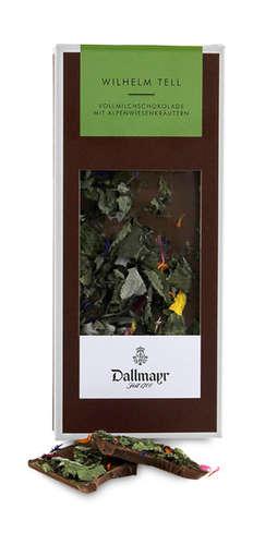 Wilhelm Tell - Vollmilchschokolade Dallmayr