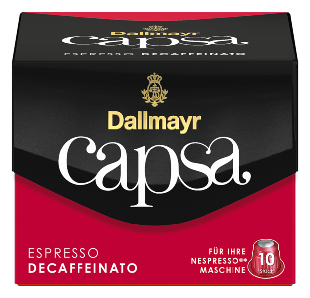 capsa Espresso Decaffeinato