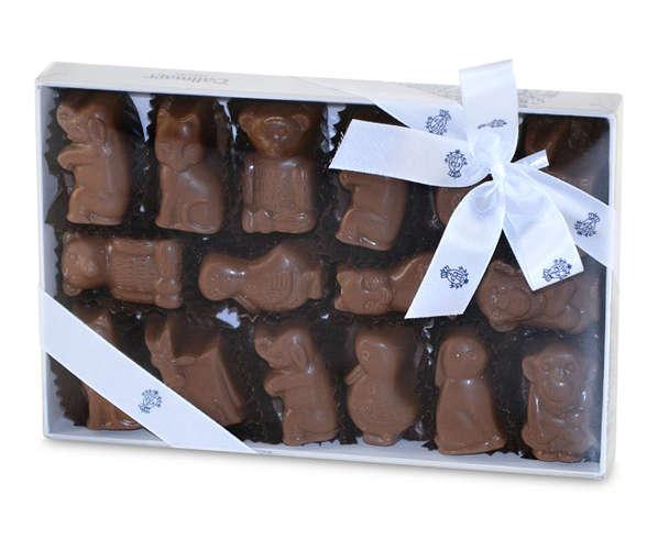 Schokoladen-Tiere Dallmayr