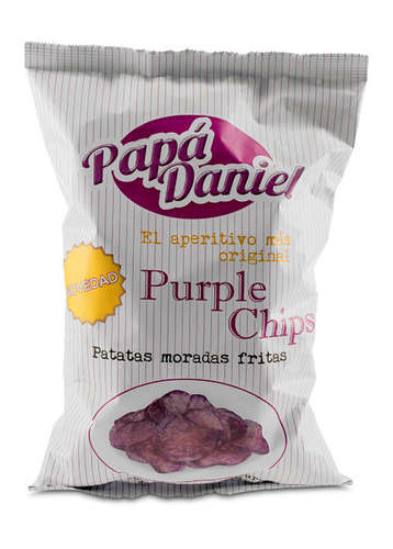 Patatas Fritas Purple Blaue Kartoffelchips