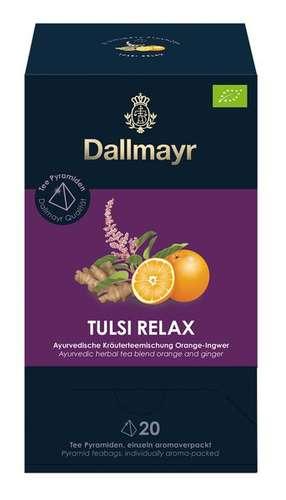 Tulsi Relax Bio Ayurvedische Kräuterteemischung Orange - Ingwer
