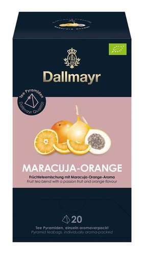 Maracuja - Orange Bio Früchteteemischung mit Maracuja - Orange - Aroma