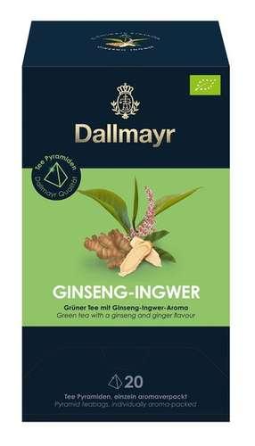 Ginseng Ingwer Bio Grüner Tee mit Ginseng-Ingwer-Aroma