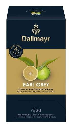 Dallmayr Earl Grey Schwarzer Tee mit Bergamotte - Aroma