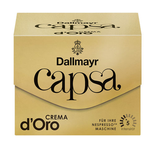 Dallmayr capsa Crema d'Oro
