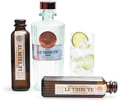 Le Tribute Gin + 2x Le Tribute Tonic Water