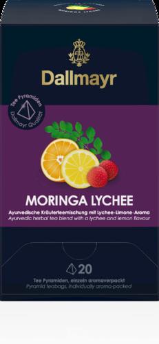Moringa Lychee Ayurvedische Kräuterteemischung mit Zitrus-Lychee-Aroma