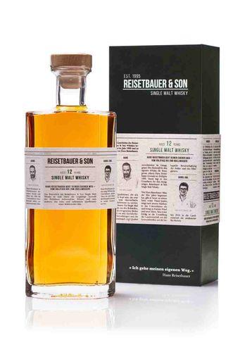 Reisetbauer + Son Single Malt Whisky 12years