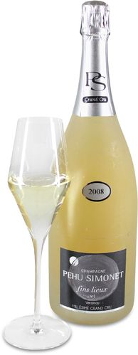 2008 Champagne Pehu Simonet fins lieux Nr. 1 Verzenay Millesime Grand Cru Blanc de Noirs