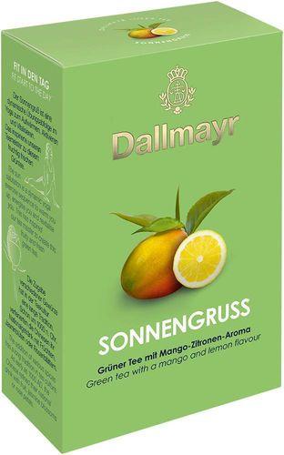 Aromatisierter Grüner Tee Sonnengruss mit Mango-Zitronen-Geschmack