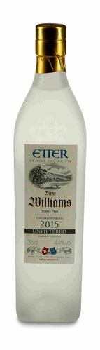 2015 Etter Williams Birne unfiltered