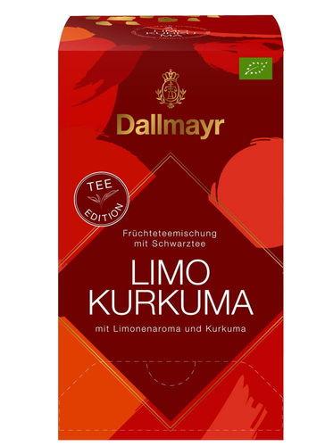 Limo Kurkuma Früchteteemischung mit Schwarztee mit Limonenaroma und Kurkuma