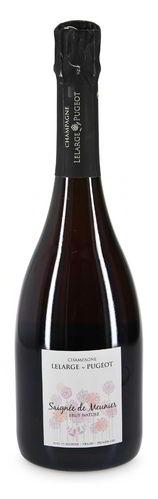 2014 Champagne Lelarge-Pugeot Rose Saignee de Meunier Brut Nature Vrigny Premier Cru