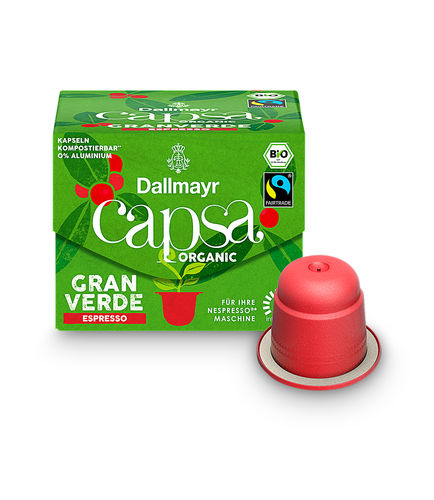 capsa Gran Verde Espresso Bio
