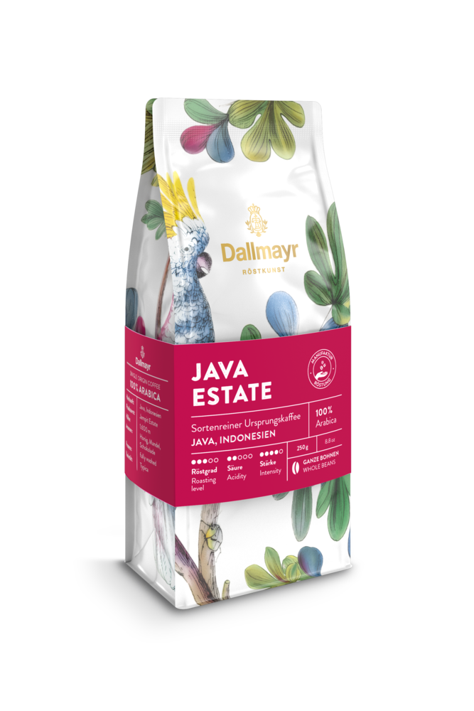 Röstkunst Java Estate 250g ganze Bohne