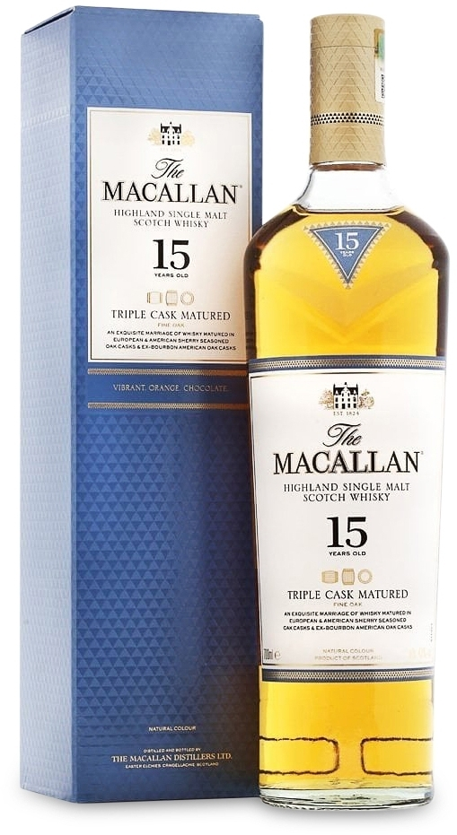 The Macallan Triple Cask Matured 15 years