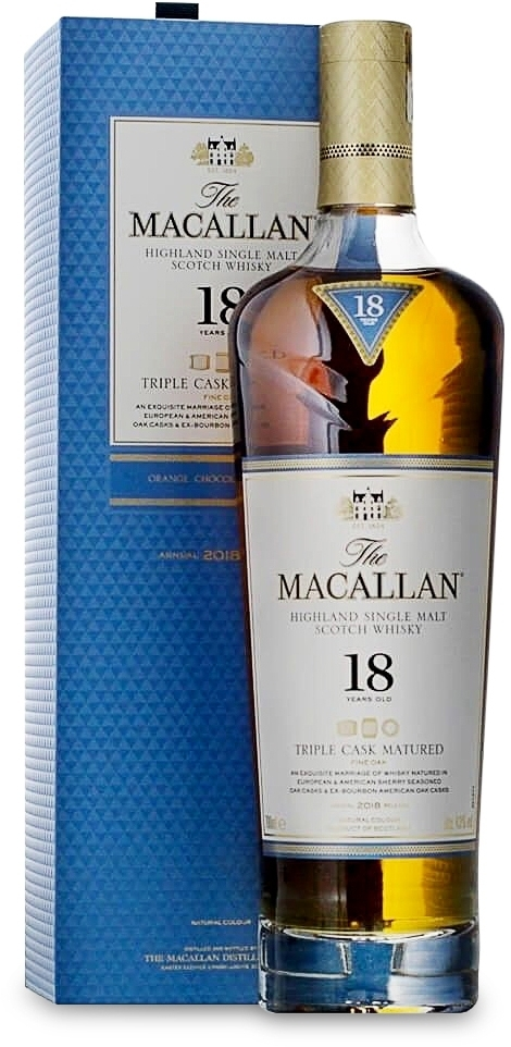 The Macallan Triple Cask Matured 18 years