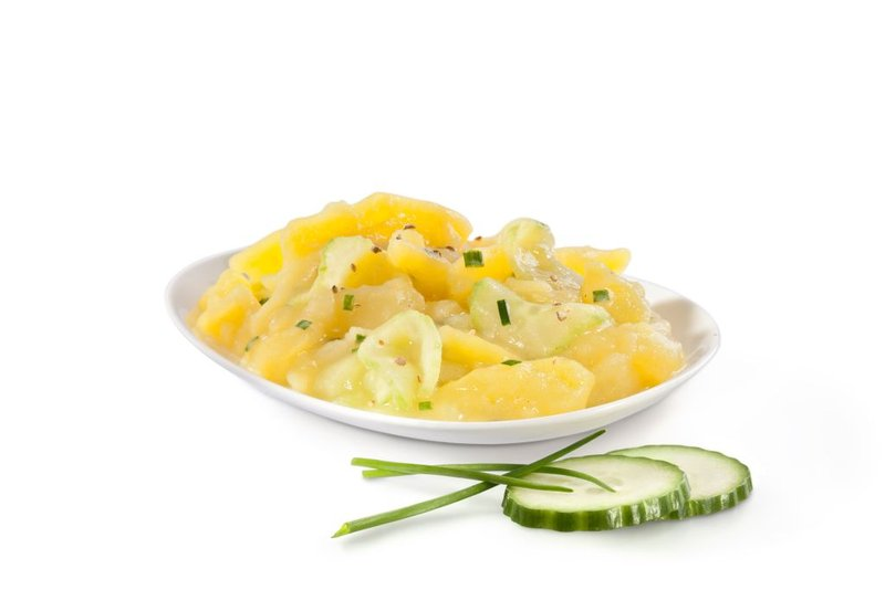 Kartoffelsalat mit Gurke