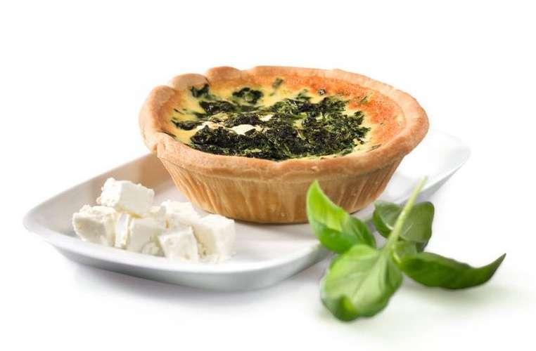 Dallmayr Quiche mit Spinat/Schafskäse