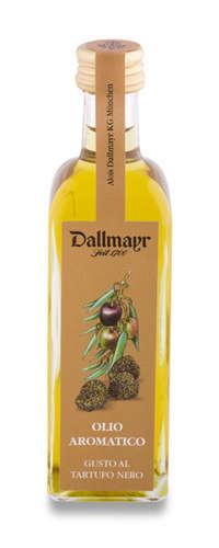 Olivenöl mit dem Geschmack von schwarzer Trüffel, Dallmayr