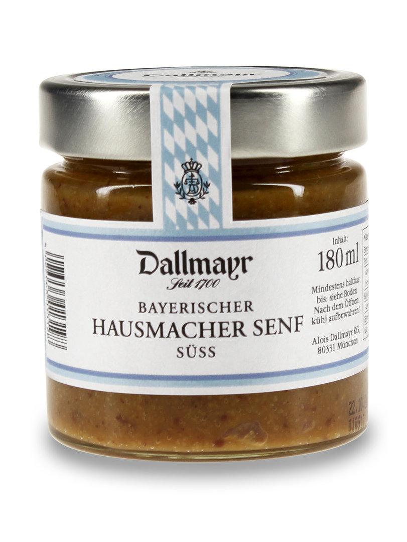 Bayerischer Hausmacher Senf süß Dallmayr
