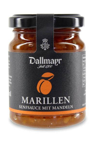 Marillen-Senfsauce mit Mandeln Dallmayr
