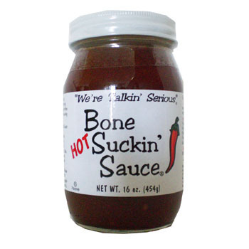 "Barbecue Sauce ""regular"" Bone Suckin"