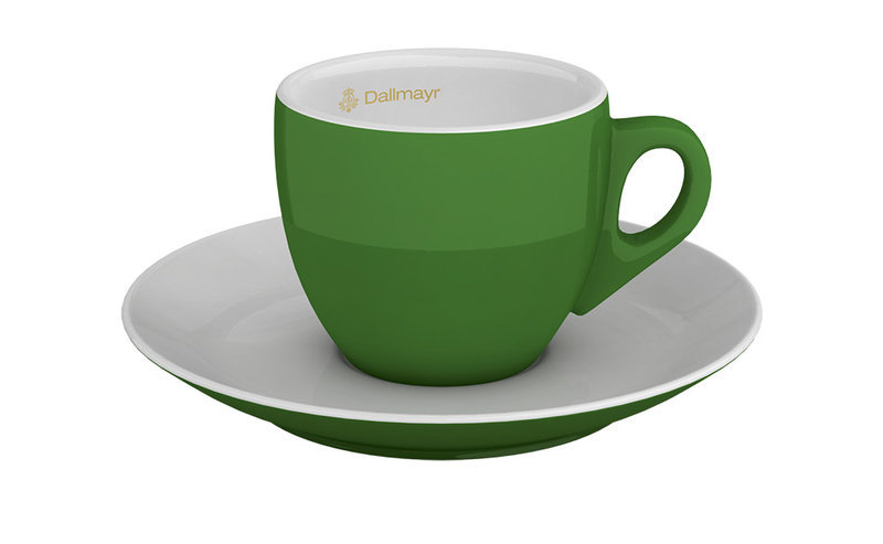 Espressotasse grün