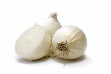Zwiebel Weiß