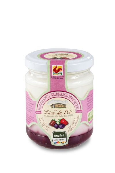 Joghurt mit Waldbeeren Alta Badia