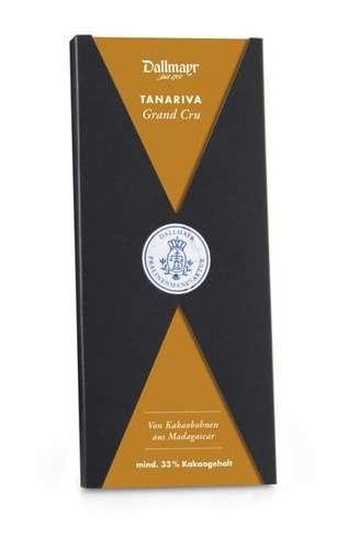 Grand Cru Tanariva 33% - Vollmilch-Schokolade Dallmayr