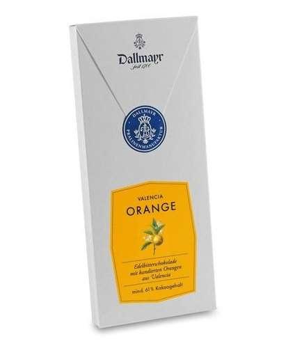 Edelbitterschokolade mit Valencia Orange Dallmayr