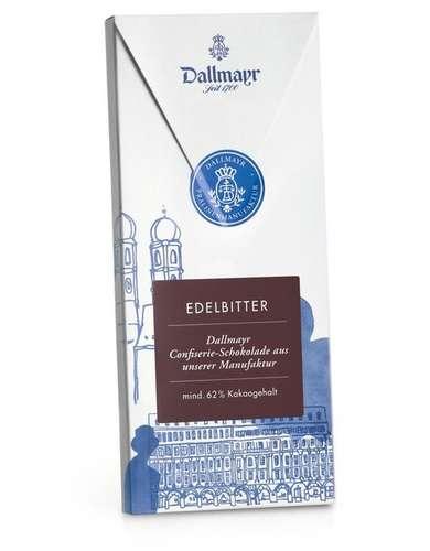 Edelbitterschokolade 62% Dallmayr