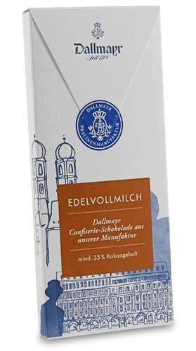 Edelvollmilchschokolade 35% Dallmayr