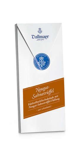 Nougat-Sahnetrüffel Schokolade Dallmayr