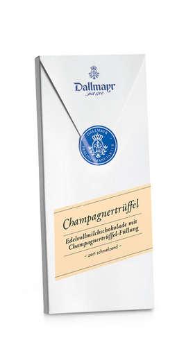 Champagner-Trüffel Schokolade Dallmayr