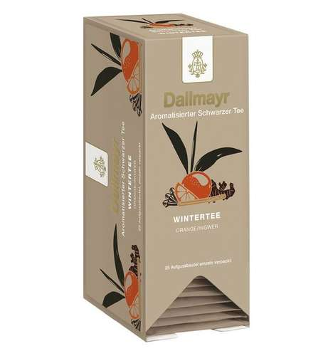 Wintertee kuvertiert Aromatisierter Schwarzer Tee