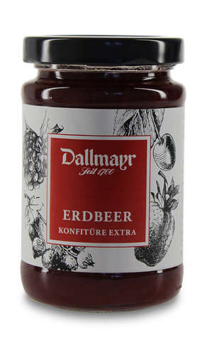 Erdbeerkonfitüre extra Dallmayr