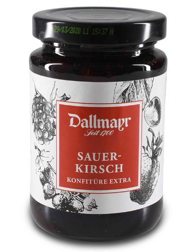 Sauerkirschkonfitüre extra Dallmayr