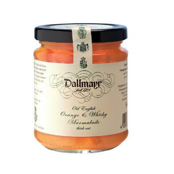 Orangenmarmelade mit Whisky Dallmayr