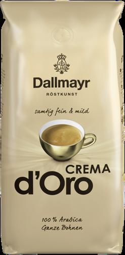 Crema d-Oro mild + fein ganze Bohne