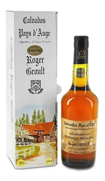 Calvados Pays d´Auge Roger Groult - 8 Jahre