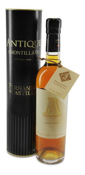 Sherry Amontillado Antique Jerez DO