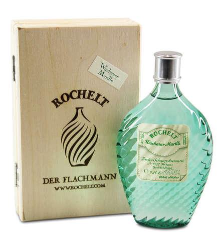 Rochelt Wachauer Marille Glasflachmann
