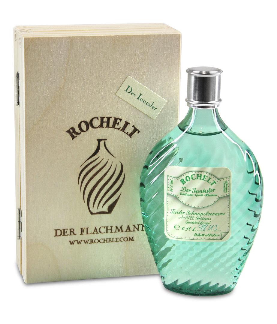 Rochelt Der Inntaler Flachmann (Williams-Quitte-Himbeere)