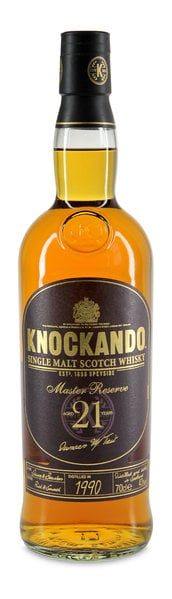 Knockando Master Reserve aged 21 years