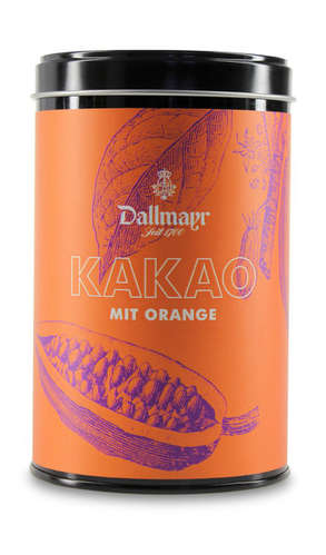 Kakao mit Orange  Dallmayr