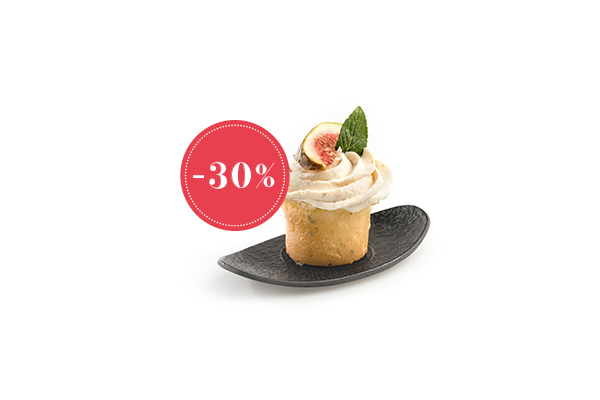 Feige, Ziegenkäse Cupcake