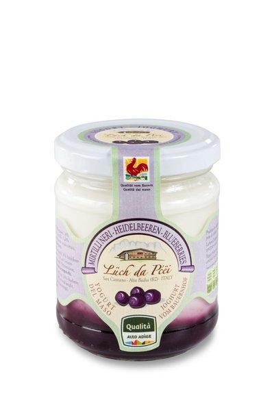 Joghurt mit Heidelbeeren Alta Badia