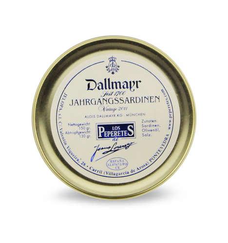 Dallmayr Jahrgangssardinen 2011 Jelo 150g